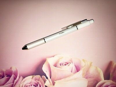 TUL Pearl Pen Limited Edition White Barrel w/ GOLD Accents Medium Point