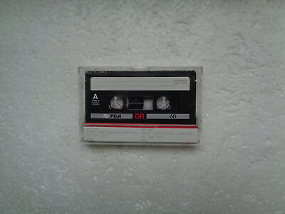 Vintage Audio Cassette FUJI DR 60 From 1985 - Excellent Condition !