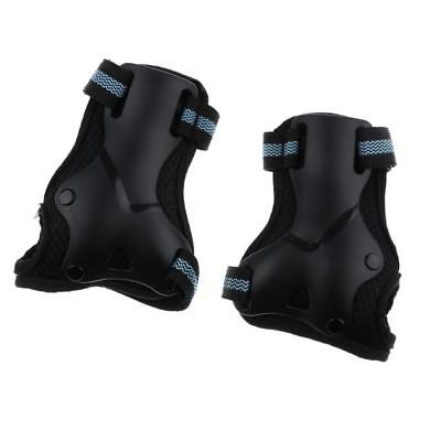 1 Pair Wrist Guards Pads Gloves for Inline/Roller Skateboarding, Cycling