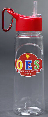 Order of the Eastern Star OES Water Bottle- New!