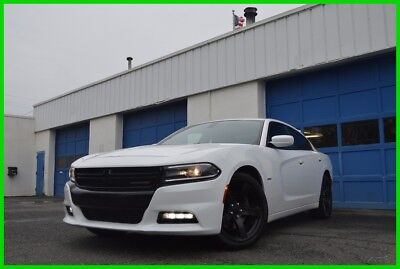 Dodge Charger R/T Rear View Camera Alpine Audio Blind Spot Monitor Rear Spoiler Black Wheels +More