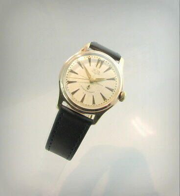 Vintage  GUB Glashutte S.A  Q1 !  /The best quality/..60's..Germany.