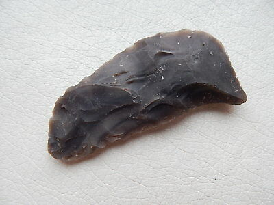 Neolithic Stone Tool. Ukraine Flint Artifact.