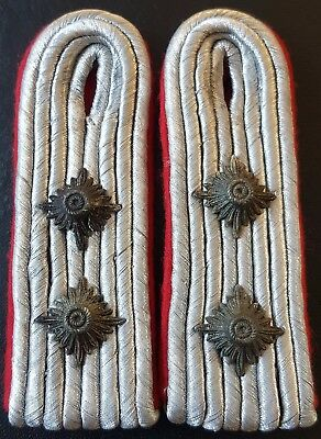 ✚7698✚ German army WW2 Wehrmacht Artillery shoulder boards CAPTAIN HAUPTMANN