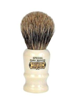 Original Simpson 'Special' Badger Bristle Shaving Brush