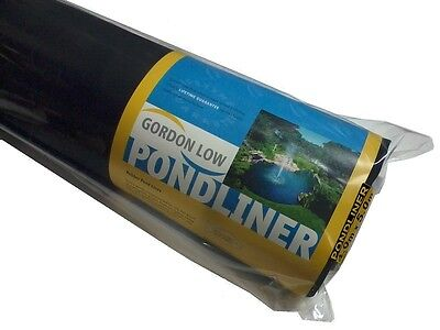 Epdm Rubber Koi Fish Pond Liner 6'6'' X 9'9'' 15 Yr Guarantee, Flexible Liner