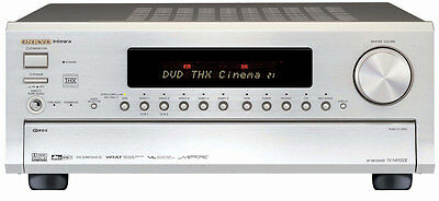 ampli home cinema onkyo tx sr608 couleur silver eur 300 00 picclick it. Black Bedroom Furniture Sets. Home Design Ideas