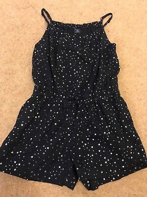 Girls Gap Playsuit Size S 6-7 Years (more Like 5-6)
