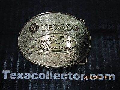 Texaco 95th AnniversaryBelt Buckle Lot 804