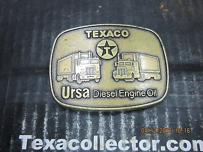 Texaco Ursa Diesel Oil Buckle Lot 805