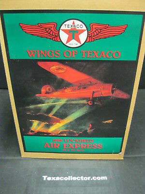 Texaco #1 Plane NIB & Two Texaco Bomber Gas Station Post Cards