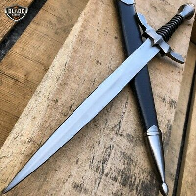 "13"" Medieval LORD OF THE RINGS Historical Short Sword Dagger Fixed Blade Knife"