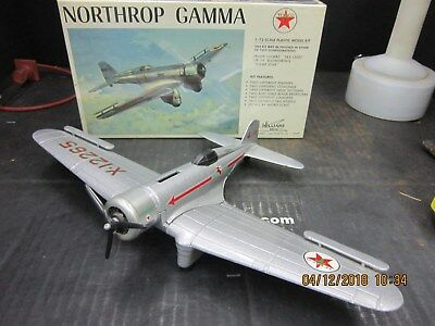 Texaco #2 Ertl Gamma and NIB 1/72 Scale Gamma Model Kit