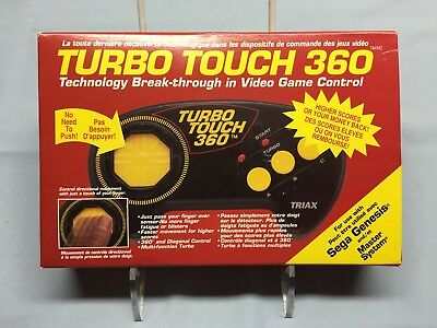 Turbo Touch 360 Vintage Controller by IRWIN for Sega Genesis and Master System!