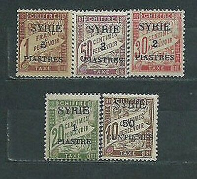 Syria French - Rate Yvert 22/6 Mh
