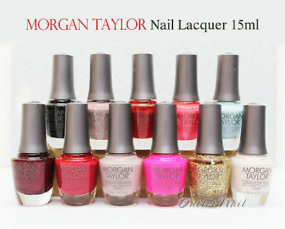MORGAN TAYLOR Part A Professional Nail Lacquer Collection 15 mL 0.5oz