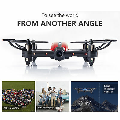 Flytec-RC Drone Quadcopter Wifi Selfie HD 720P FPV Camera Real Time Video VR