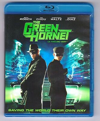 The Green Hornet (Blu-ray, 2001, Canadian Bilingual, small comic book included)