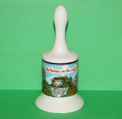 Vintage The House on the Rock WI Ceramic Collector Souvenir Hand Bell 5.25""