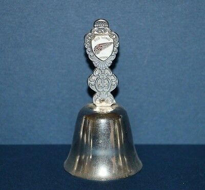 Vintage Red Wing Minnesota Silver Metal Collector Souvenir Bell 3.25""