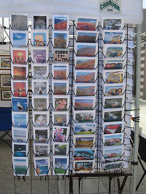 Planet racks 10 tier floor literature book greeting card video game 8359 10 hanging greeting card display racks local pu only 93065 used m4hsunfo