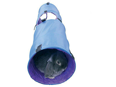 Rosewood Boredom Breaker Pop Up Fabric Play Tunnel for Rabbits or Ferrets