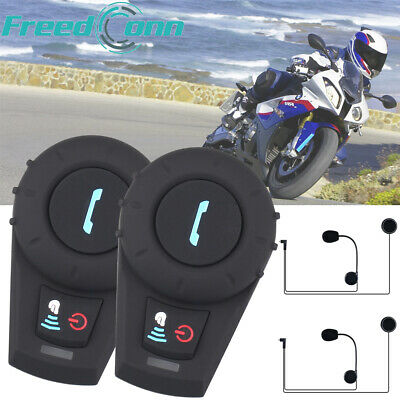 FreedConn Motorcycle Helmet Intercom Communication Bluetooth Interphone Headset