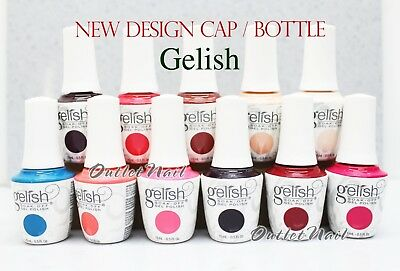 2018 Gelish Harmony NEW DESIGN CAP BOTTLE UV Soak Off Gel Nail 0.5oz 2017