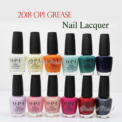 OPI Nail Polish Lacquer GREASE Collection SUMMER 2018 @PICK Any Color NLG41 >G52