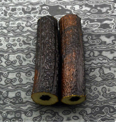 Hollow Knife Handle POM Resin Antler Horn Handle Sword Making Supplies Material