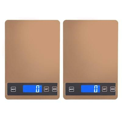 LCD Digital Kitchen Food Fruit Scales Electronic Weight Diet Postal 5/15KG Scale