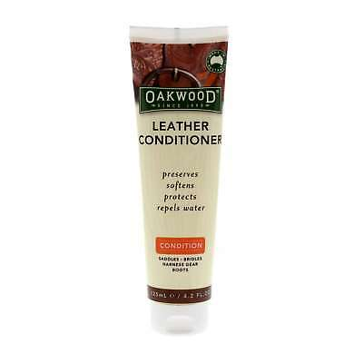 Oakwood Leather Conditioner 125ml Bainbridge Contains Natural Beeswax Lanolin