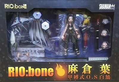 New RIO:bone Shaman King Asakura Yoh & Byakko Sentinel From Japan