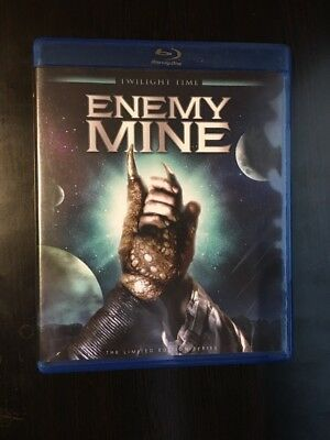 Enemy Mine - The Limited Edition Series (Blu-ray Disc, 2012) 3000 MADE *RARE*