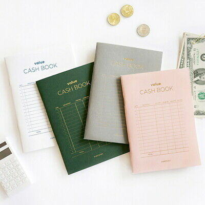 cash book planner money ledger petty school account household record