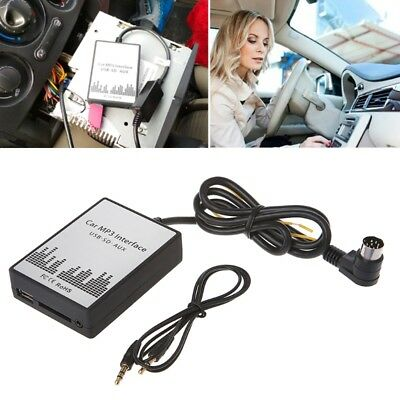 USB SD AUX Car MP3 Music Player Adapter for Volvo HU-series C70 S40/60/80 XC/C70