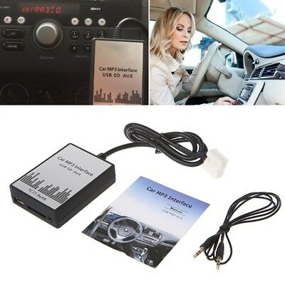 USB SD AUX Car MP3 Music Player Adapter CD Change for Suzuki for Fiat for Opel