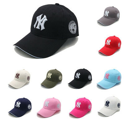 Basic NY New York Yankees Baseball Cap Men Women Snapback B-boy Hip Hop Ball