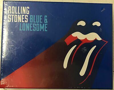 The Rolling Stones ~ Blue And Lonesome NEW SEALED CD Deluxe Box Set