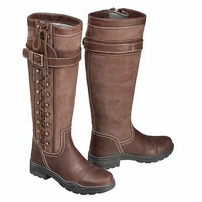 Harry Hall Womens/Ladies Overstone Long Country Boots (TL210)