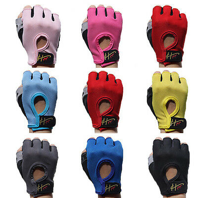 Weightlifting Gloves Gym Crossfit Workout Fitness Bodybuilding Training Exercise