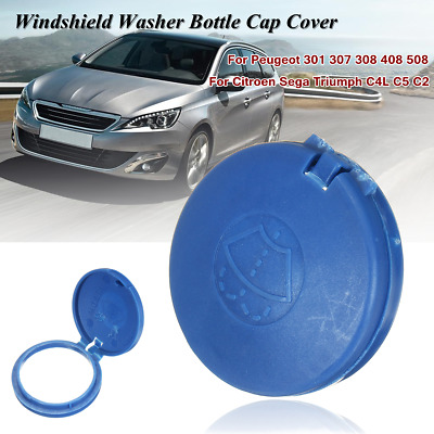 1X Windshield Washer Fluid Reservoir Tank Bottle Cap For Peugeot Citroen C4L C5