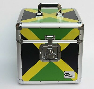 Zilla LP100 30.5cm Vinyl Platte Box Lagerung Flight Case Aluminium