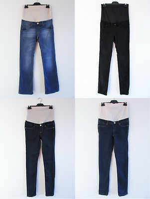 Bulk Maternity Jeans West Jeanswest Jeans Sz 8/XS Black Blue Skinny Slim Bootcut