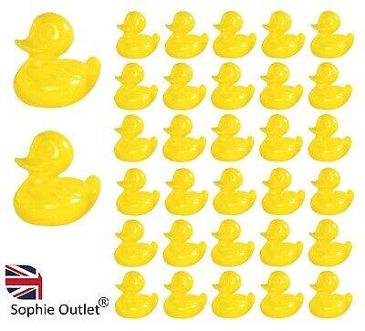 YELLOW PLASTIC DUCKS Party Fundraising Fair Toys Filler Charity Gift Bath Pond