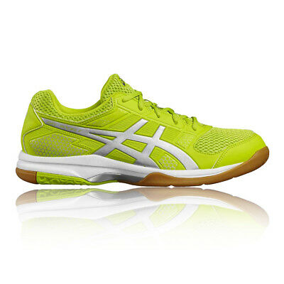 Asics Mens Gel-Rocket 8 Indoor Court Shoes Trainers Footwear Sports Yellow