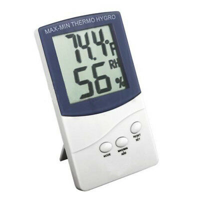 Digital LCD Indoor/Outdoor Temperature Thermometer Hygrometer Humidity Meter