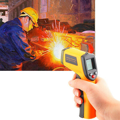 Handheld Digital Laser Thermometer Temperature Non-Contact IR Infrared UK