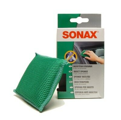 Sonax Insect Sponge Easy Quick Removes Insect Residue From Glass Paint Plastics