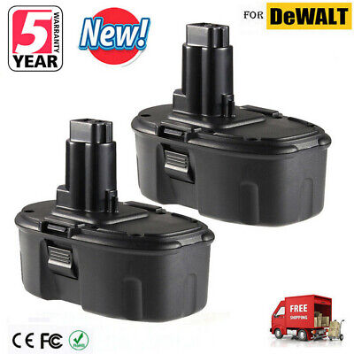 2x 18V 18VOLT Ni-CD Battery for DeWALT DC9096 DW9095 DW9096 18V Power Tool NEW